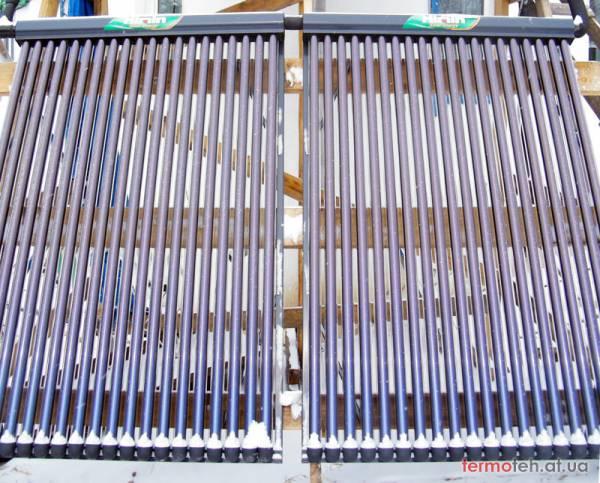 Мифы о солнечных коллекторах Вакуумный коллектор